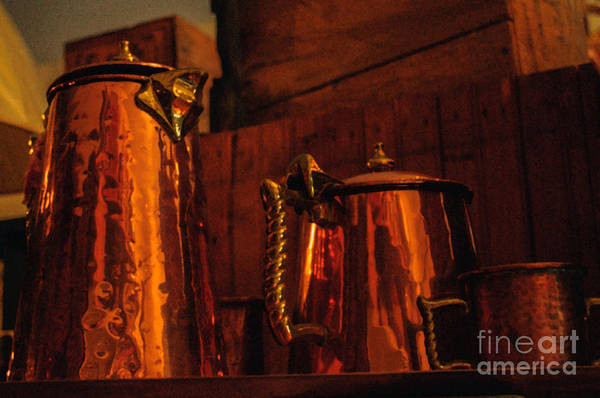 Photograph - Copper Pots by Tikvah's Hope