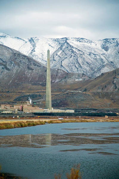 Copper Mountain Photograph - Copper Smelting Plant by Jim West