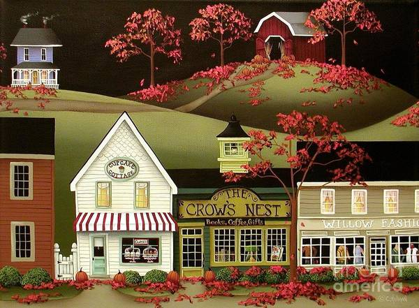 Bakery Painting - Copper Springs by Catherine Holman