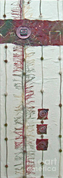 Mixed Media - Coppered Willow by Phyllis Howard