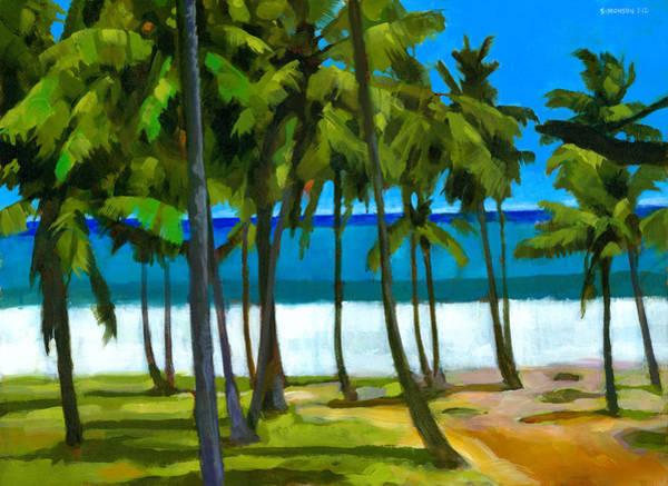Coconut Tree Painting - Coqueiros De Tiririca by Douglas Simonson