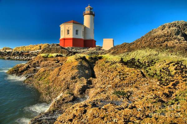 Photograph - Coquille River Light by Adam Jewell