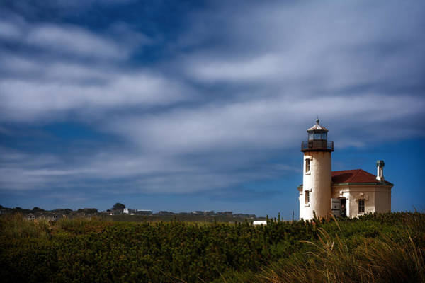 Photograph - Coquille River Lighthouse by Joan Carroll