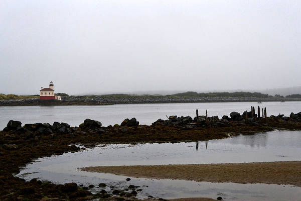 Photograph - Coquille River Lighthouse by Michelle Calkins