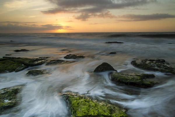 Photograph - Coquina Rock Sunrise by Doug McPherson