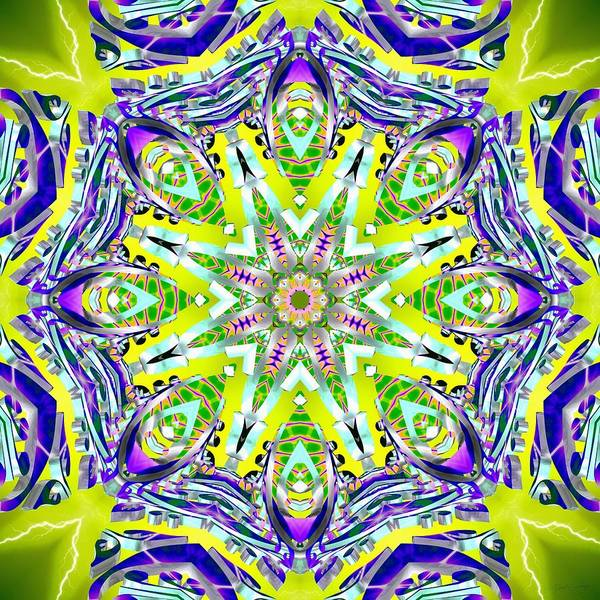 Digital Art - Coral Limelight by Derek Gedney