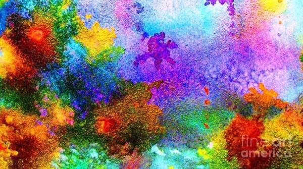 Wall Art - Painting - Coral Reef Impression 6 by Hazel Holland
