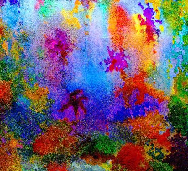 Wall Art - Painting - Coral Reef Impression 9 by Hazel Holland