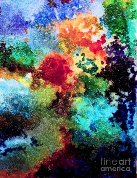 Wall Art - Painting - Coral Reef Impression 11 by Hazel Holland