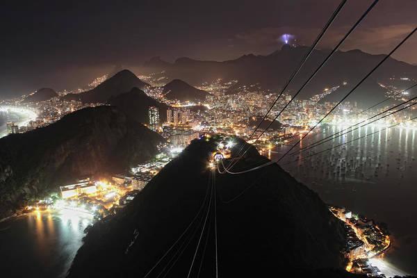 Rio De Janeiro Photograph - Corcovado, Urca And Botafogo by Antonello