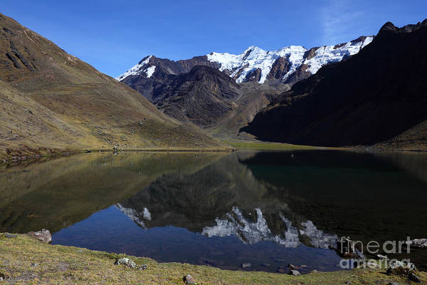 Photograph - Cordillera Apolobamba Reflections by James Brunker