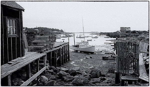 Photograph - Corea Harbor Maine 1973 No 2 by Marty Saccone