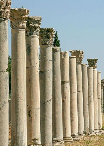 Photograph - Corinthian Columns In Turkey by Sabrina L Ryan