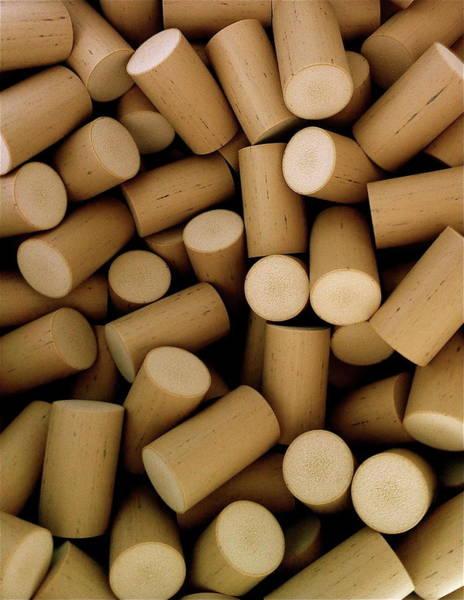 Cylinder Photograph - Corks by Walt Stoneburner