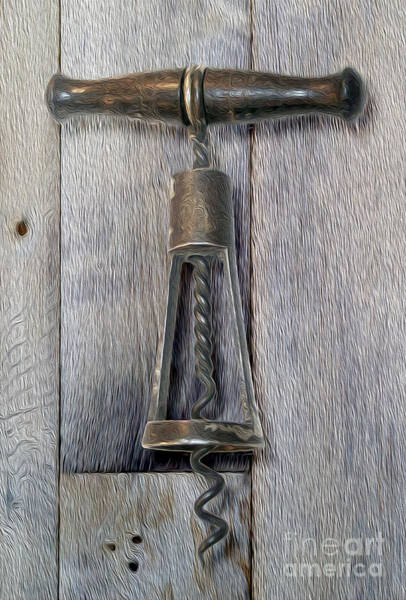 Still Life Mixed Media - Clough Power Cone Corkscrew by Jon Neidert