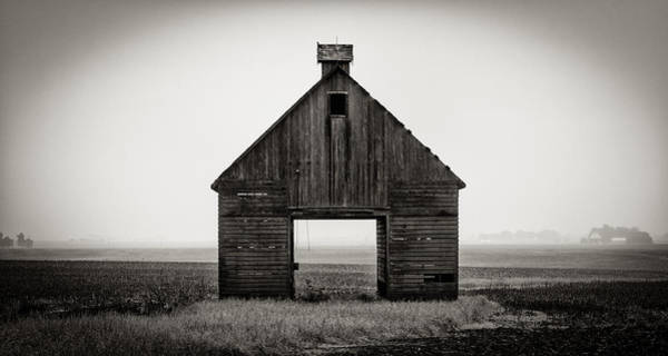 Photograph - Corn Crib #2 by James Howe