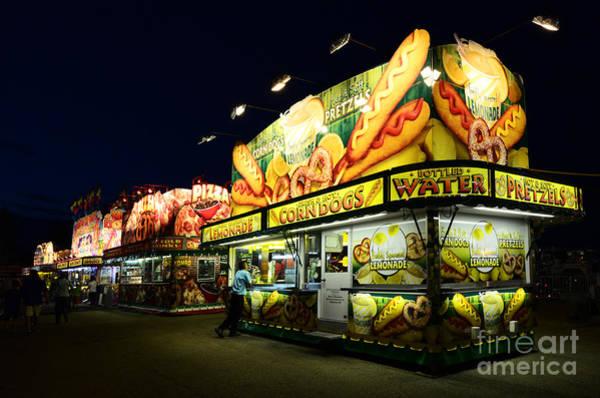 Lethbridge Photograph - Corn Dog Kiosk by Bob Christopher