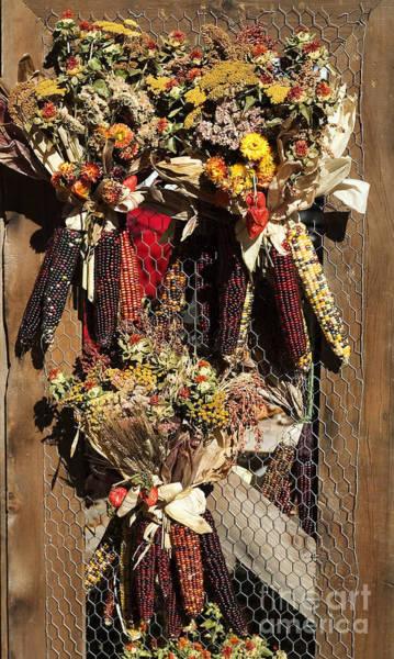 Photograph - Corn Wreaths by Steven Ralser