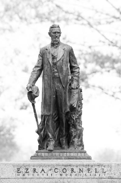 Photograph - Cornell University Ezra Cornell  by University Icons