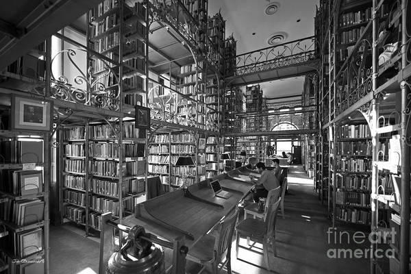 Photograph - Cornell University Uris Library by University Icons