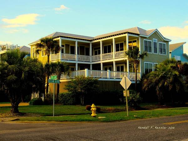Photograph - Corner Beauty At Isle Of Palms by Kendall Kessler