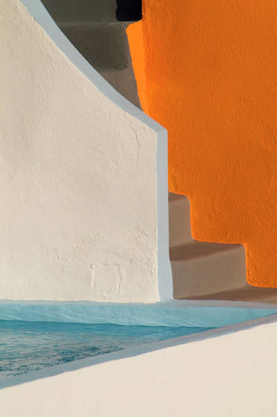 Wall Art - Photograph - Corner Of A Swimming Pool by Diana Mayfield