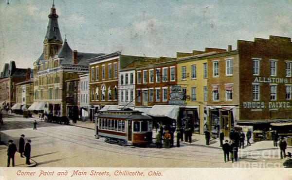Corner Of Paint And Main - Chillicothe Ohio Art Print