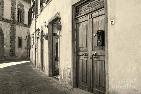 Corner Of Volterra Art Print