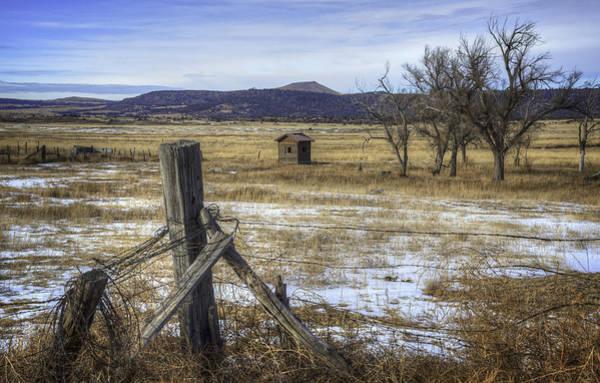 Photograph - Corner Post by David Waldrop