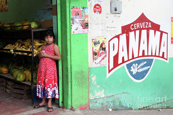 Photograph - Corner Shop Panama by James Brunker