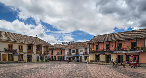 Boyaca Photograph - Corner Square by Maria Coulson