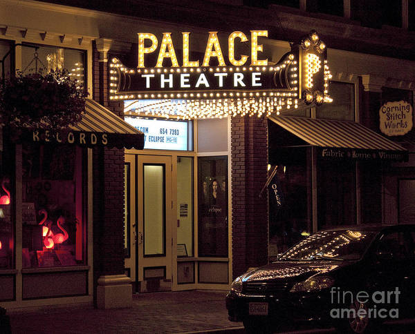Photograph - Corning Palace Theatre by Tom Doud