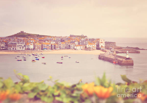 Wall Art - Photograph - Cornish Harbour by Lyn Randle