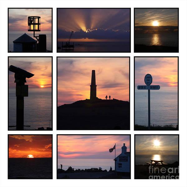 Sennen Cove Photograph - Cornish Sunsets by Terri Waters