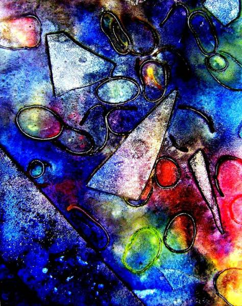 Acrylic Mixed Media - Cornucopia by John  Nolan