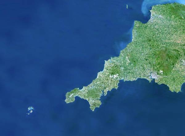 Channel Isles Photograph - Cornwall by Planetobserver