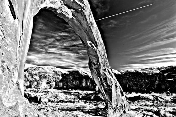 Photograph - Corona In Black And White by Adam Jewell