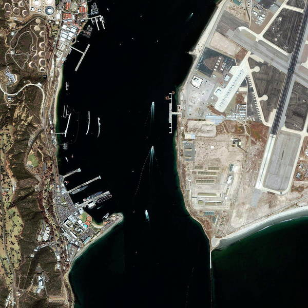 Coronado Photograph - Coronado Channel by Geoeye/science Photo Library