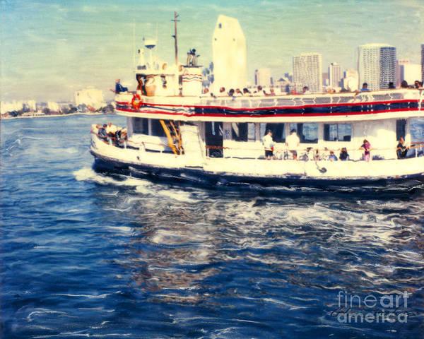 Photograph - Coronado Ferry - Horz. by Glenn McNary