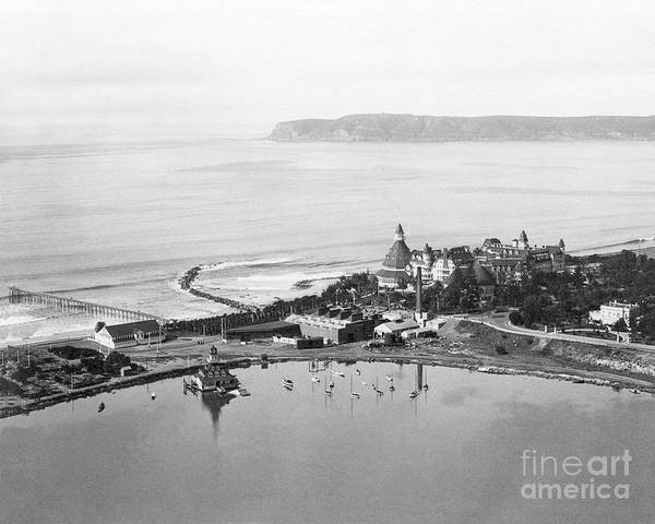 Photograph - Coronado From Above 1920's by Glenn McNary