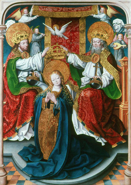 Painting - Coronation Of The Virgin by Granger