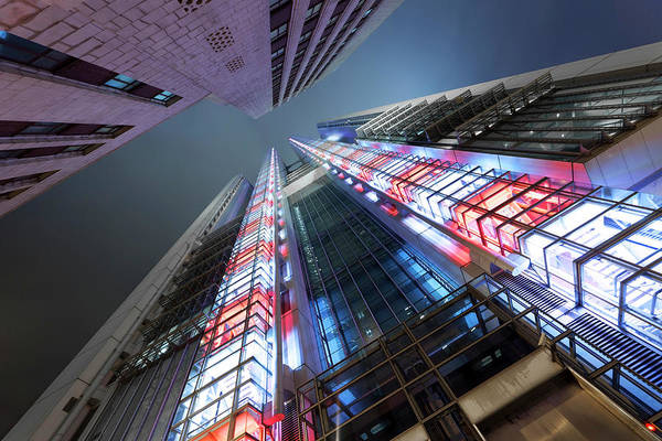Photograph - Corporate Buildings by Bertlmann