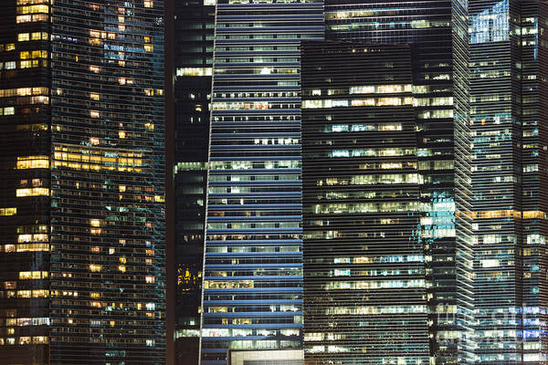 Photograph - Corporate Singapore by Didier Marti
