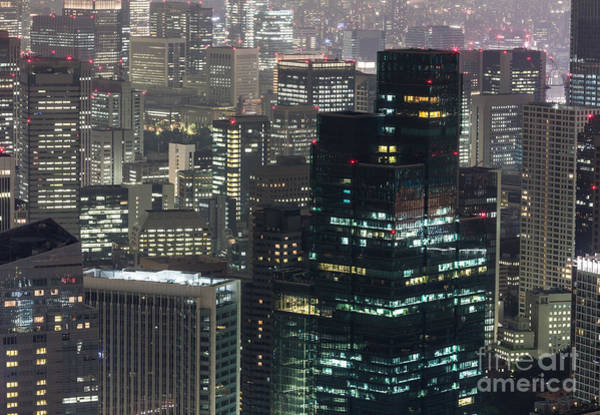 Photograph - Corporate Tokyo by Didier Marti