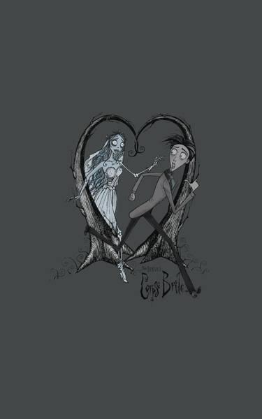 Tim Burton Wall Art - Digital Art - Corpse Bride - Runaway Groom by Brand A
