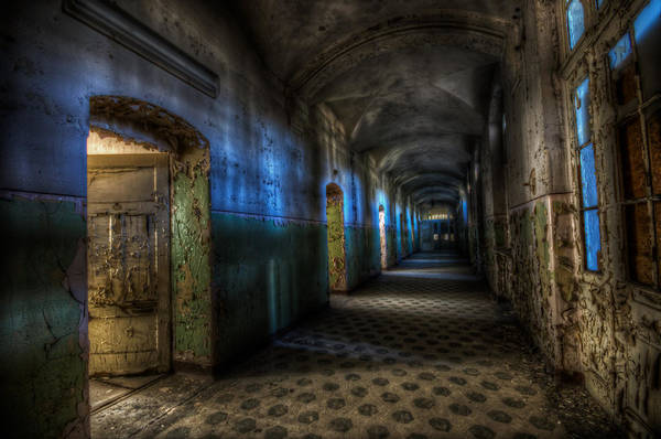 Grimy Wall Art - Digital Art - Corridor Of Darkness  by Nathan Wright