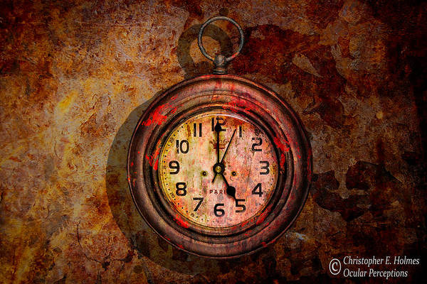 Photograph - Corroded Time by Christopher Holmes