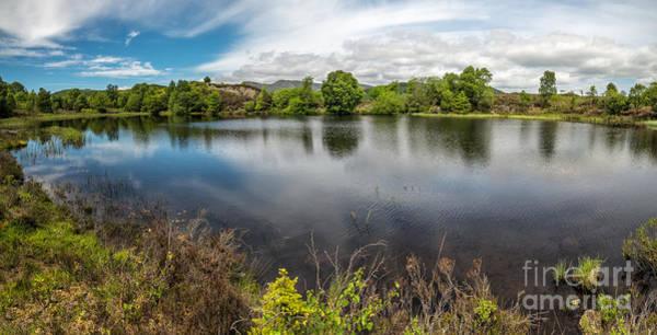Coed Photograph - Cors Bodgynydd Reservoir by Adrian Evans