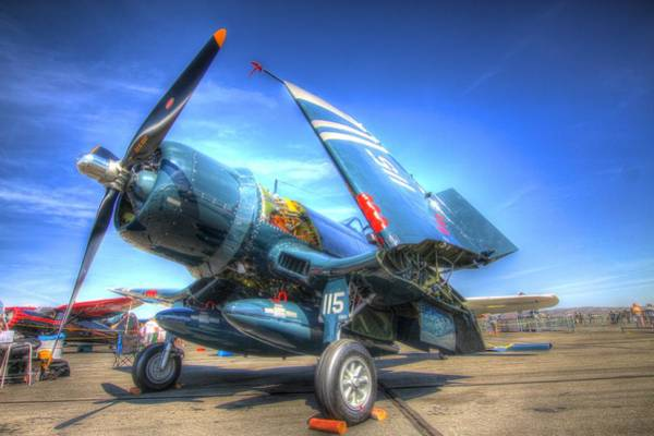 Photograph - Corsair Salute by John King
