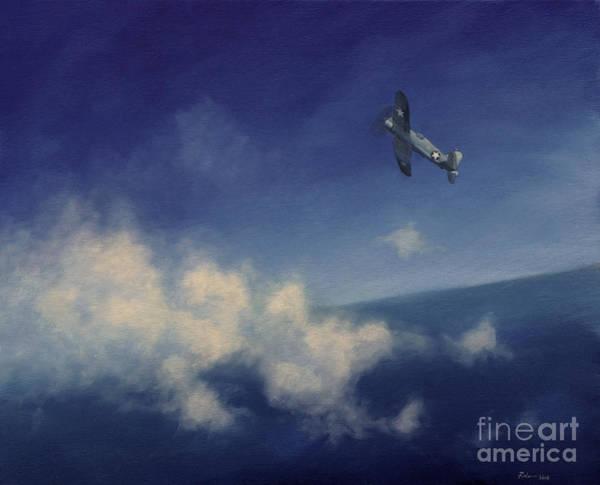 Corsair Painting - Corsair by Stephen Roberson